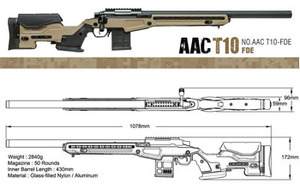 Action Army.  AAC T10 스나이퍼건