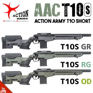 Action Army.  AAC T10 Short Ver. 스나이퍼건