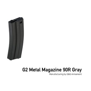 [G&G] G2 Metal Magazine 90R Gray @