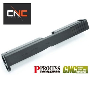 가더 Steel(강철) CNC Slide for MARUI Glock17 Gen4 (Black) @